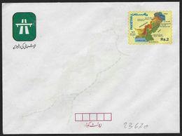 Pakistan: Intero, Stationery, Entier, Autostrada, Highway, Autoroute, Mappa, Map, Carte - Transporte