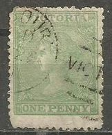Victoria - 1867 Queen Victoria 1d Used - 1850-1912 Victoria