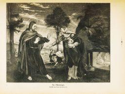 Am Ostermorgen (nach Einem Gemälde Von Hans Holbein D. J. ) /  Druck, Entnommen Aus Zeitschrift / 1912 - Libros, Revistas, Cómics