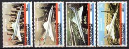 Col17  Colonie Nouvelles Hebrides N° 531 à 534 Concorde Neuf XX MNH  Cote 15,00€ - Engelse Legende