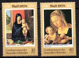 Col17  Colonie Nouvelles Hebrides N° 541 & 544 Neuf XX MNH  Cote 2,20€ - Ongebruikt