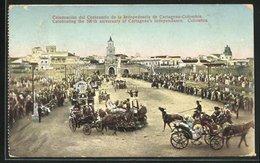 AK Cartagena, Celebración Del Centenariio De La Independencia - Colombia