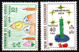 Col17  Colonie Nouvelles Hebrides N° 567 & 570 Neuf XX MNH  Cote 2,00€ - Ongebruikt