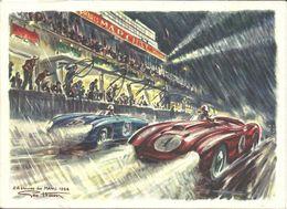 - LE MANS  - Très Belle Publicité De La Marque MARCHAL - Le Mans