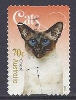 Australia - 2015 Domestic Animals, Cat, Charo - Used - Gebruikt