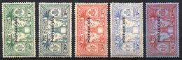 Col17  Colonie Nouvelles Hebrides Taxe N°  6 à 10 Neuf X MH  Cote 500,00€ - Strafport