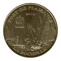 Monnaie De Paris , 2010 , La Rochelle , Port De Plaisance 2010 , La Régate - Monnaie De Paris