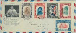 84484 -  ETHIOPIA  - Postal History -  Cachet COVER 1947 - Franklin Delano ROOSEVELT - Ethiopie