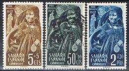 Serie Completa SAHARA Español 1952, Pro Infancia, Num 94-96 */º - Sahara Spagnolo