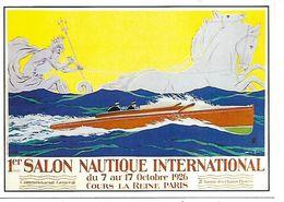 CPM - CENTENAIRE Editions - L.ROSENGART - 3 - 1er SALON NAUTIQUE INTERNATIONAL - PARIS - 1926 - Tentoonstellingen