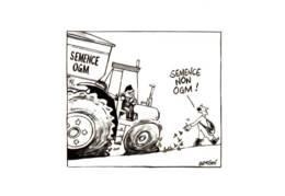 """CPM - CAMPAGNE """"SANS OGM"""" - """"Semence Non OGM"""" - Dessin SAMSON - Edition ... - Santé"""