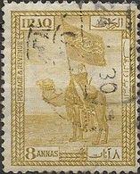 IRAQ 1923 Tribal Standard, Dulaim Camel Corps - 8a - Bistre FU - Iraq
