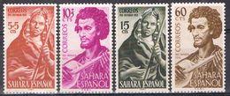 Serie Completa SAHARA Español 1953, Pro Infancia, Num 104-107 * - Sahara Spagnolo