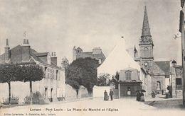 Lorient  Port Louis Place Du Marche Eglise - Lorient