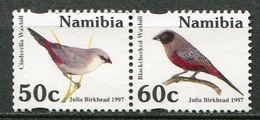 Namibia Mi# 833-4 Postfrisch/MNH - Fauna Birds - Namibia (1990- ...)