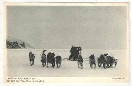Groenland - Départ Du Traîneau à Chasse - Exposition De Paris 1931 - Groenlandia