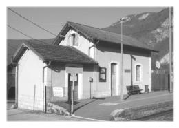 AIGUEBELETTE-LE-LAC - La Gare - Aiguebelle