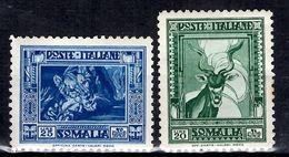 Somalie Italienne YT N° 178B/179B Neufs *. B/TB. A Saisir! - Somalia