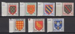 France: 1954. Y&T  N° 999/1005 **, MNH, Neuf(s). Cote Y&T 2020 : 1,80 € - Frankreich