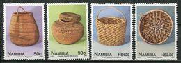 Namibia Mi# 849-52 Postfrisch/MNH - Basketry - Namibia (1990- ...)