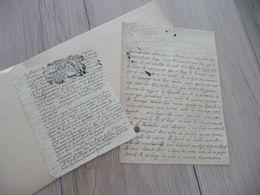 De Saint Félix LAS Autographe Signée Lodève 1711 à Chevillard Sur Sa Noblesse + 1 Extrait Généalogique - Autographs