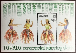 Tuvalu 1989 Dancing Skirts Minisheet MNH - Tuvalu