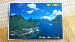 CPM POLYNESIE FRANCAISE BAIE DE COOK A MOOREA  TEVA SYLVAIN 647  PACIFIC PROMOTION - Polynésie Française