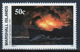 Marshall Islands Single 50c Stamp From The History Of The Second World War Series. - Marshalleilanden