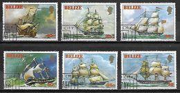BELIZE   -   1982   .  Série Des Bateaux Oblitérés  /  Boats  /  Voiliers - Belize (1973-...)