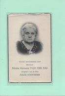 13-MARIA VAN DER PAS-HOUTTEKIER-HOOGSTRATEN - Devotion Images