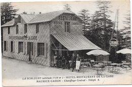 88 LA SCHLUCHT - Hôtel Restaurant De La Gare - Animée - Altri Comuni