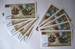 LOT 10 Faux Billets PIEDS NICKELÉS 127 Francs / PELLOS / Vent D'ouest 1990 / TBE ! - Livres, BD, Revues