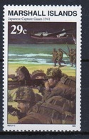 Marshall Islands Single 29c Stamp From The History Of The Second World War Series. - Marshalleilanden
