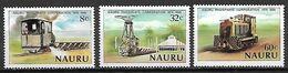 NAURU   -   1980  .   Exploitation Des  Phosphates   /  Trains  /  Locomotives ... - Nauru