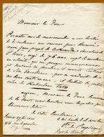 Comte De  PUYSEGUR  (Pair De France)  1826  RABASTENS  (Tarn) - Autographs