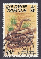 Solomon Islands - Fauna, Reptiles, Guppy's Snake - Used - Solomoneilanden (1978-...)