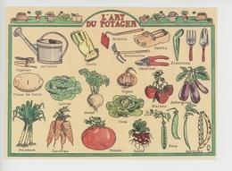 L' Art Du Potager - Louise Deletang Illustrateur (cp Vierge) Légumes Outils - Heilpflanzen