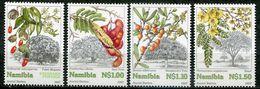 Namibia Mi# 867-70 Postfrisch/MNH - Flora Trees - Namibia (1990- ...)