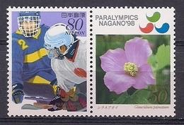 JAPON 1998 - PARALYMPICS NAGANO 98 - YVERT Nº 2413/2414** - Winter 1998: Nagano