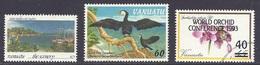 Vanuatu - Scenery, Iririki Island With Yacht, Marine Life, Little Pied Cormoran, Orchid Conference - Used - Vanuatu (1980-...)