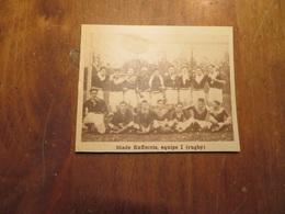 RUFFEC (CHARENTE): STADE RUFFECOIS ÉQUIPE 1 RUGBY (PHOTO DE JOURNAL: 02/1932) - Poitou-Charentes