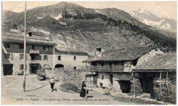 73 TIGNES - La Place (au Centre Ancienne Pierre De La Taille) - Otros Municipios