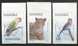 Namibia Mi# 894-6 Postfrisch/MNH - Fauna Birds Cat - Oily Adhesive - Namibia (1990- ...)