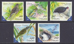 Vanuatu - 2012 Definitives, Birds, Oiseaux, Vogel, Uccelli - Mixed Used - Vanuatu (1980-...)