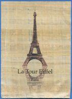 FRANCE - PARIS - LA TOUR EIFFEL (Peinture Sur Papyrus) - Tour Eiffel