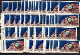Nouvelle-Calédonie Poste Aérienne YT N° 73 X 100 Timbres Oblitérés. B/TB. A Saisir! - Poste Aérienne