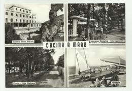 CECINA A MARE - VEDUTE - VIAGGIATA  FG - Livorno
