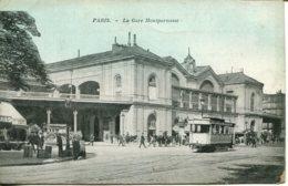 CPA - PARIS - GARE MONTPARNASSE - Autres Monuments, édifices