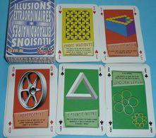 Rare Jeu De 52 Cartes, Illusions Extrordinaires Optiques, Science & Vie - Autres