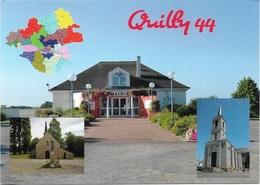 44 - QUILLY - 3 Vues + Carte Géographique De La Loire-Atlantique - Cpm - Vierge - - Otros Municipios